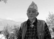 नुवाकोटको तारकेश्वरका वडाध्यक्ष अधिकारीको निधन