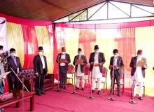 गण्डकीमा मन्त्रिपरिषद् विस्तार : कांग्रेस र माओवादीबाट ३/३ जना मन्त्री थपिए, जसपा असन्तुष्ट